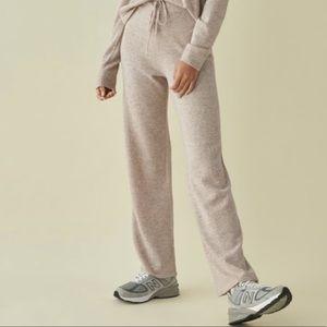 Reformation Cashmere Sweatpants